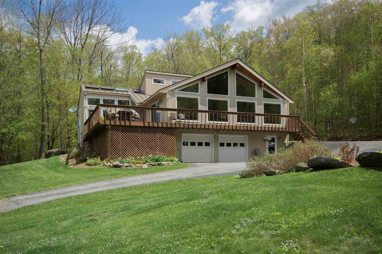 Beautiful chalet with views of Mount Snow located...