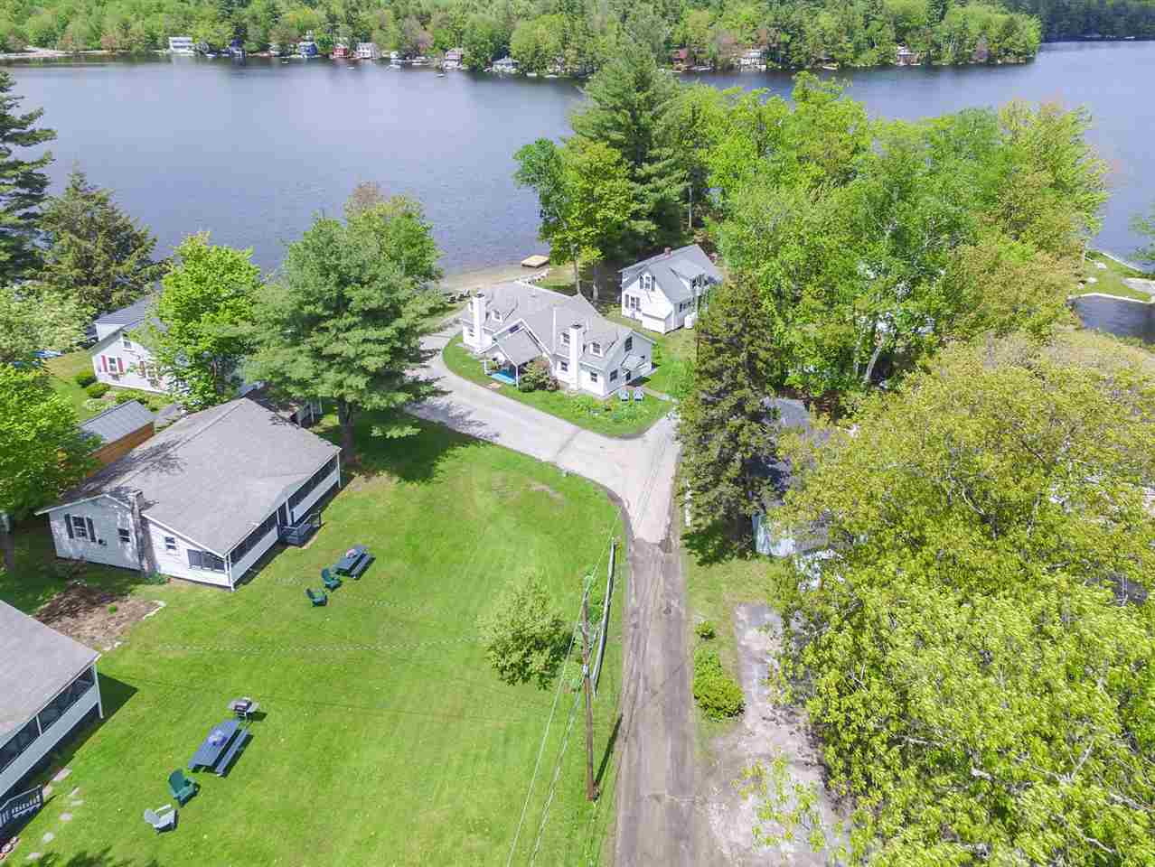 SUNAPEE NH Lake House for sale $$795,000 | $182 per sq.ft.