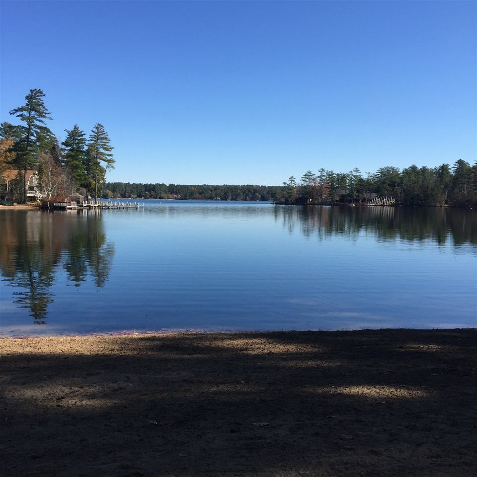 Moultonborough NH Land mls no. 4636217 with 410 ft. Owned waterfront