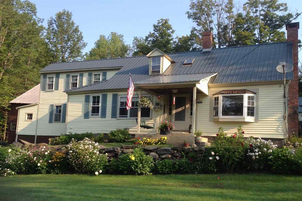 Idyllic Vermont farmhouse situated upon 1.1...