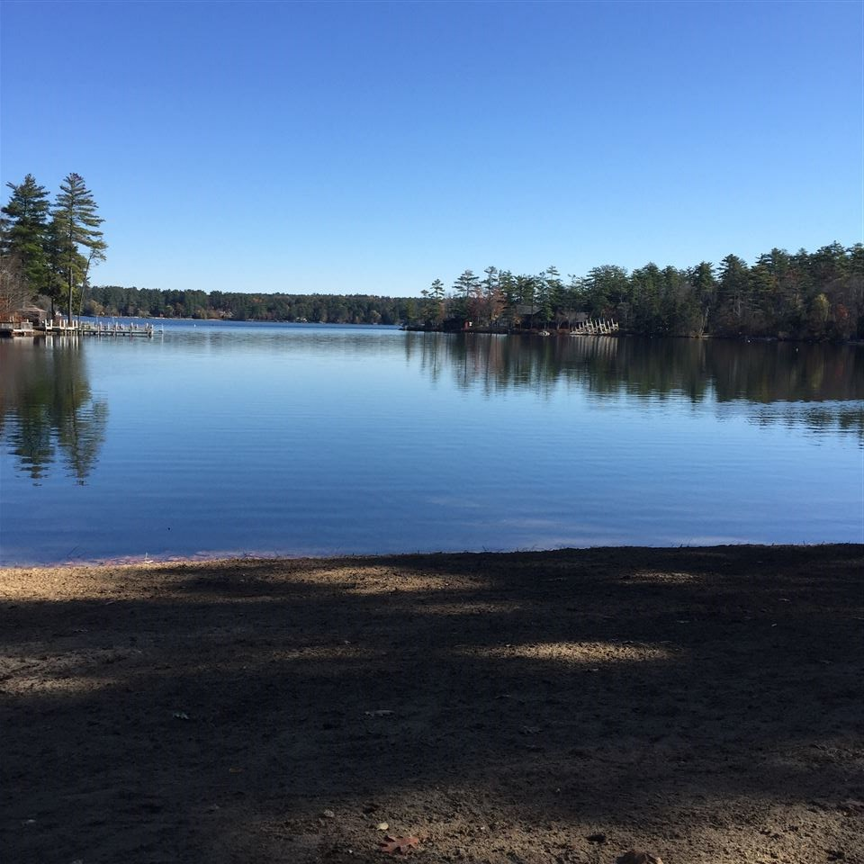Moultonborough NH Land mls no. 4636332 with 230 ft. Owned waterfront