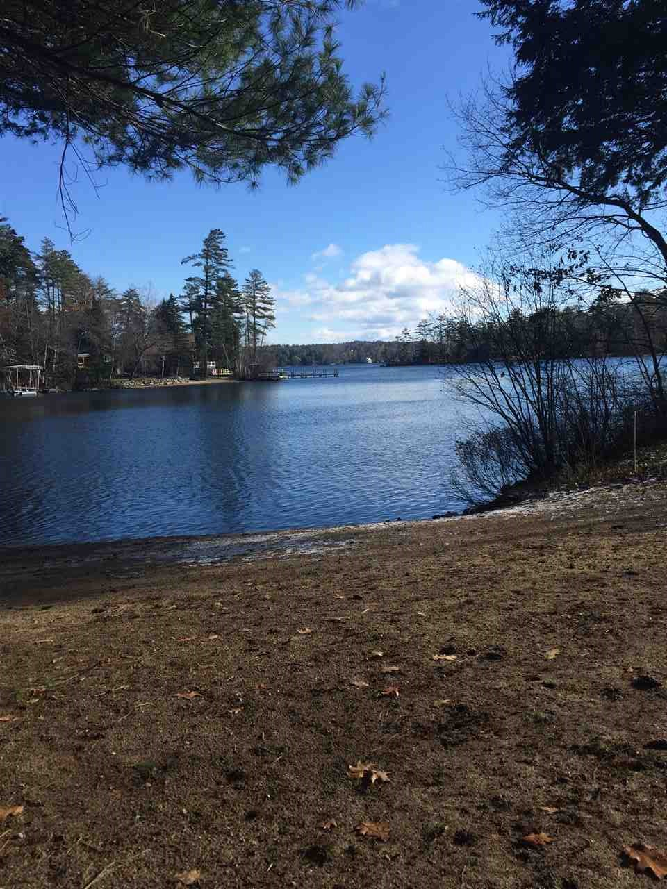 Moultonborough NH Land mls no. 4636447 with 180 ft. Owned waterfront