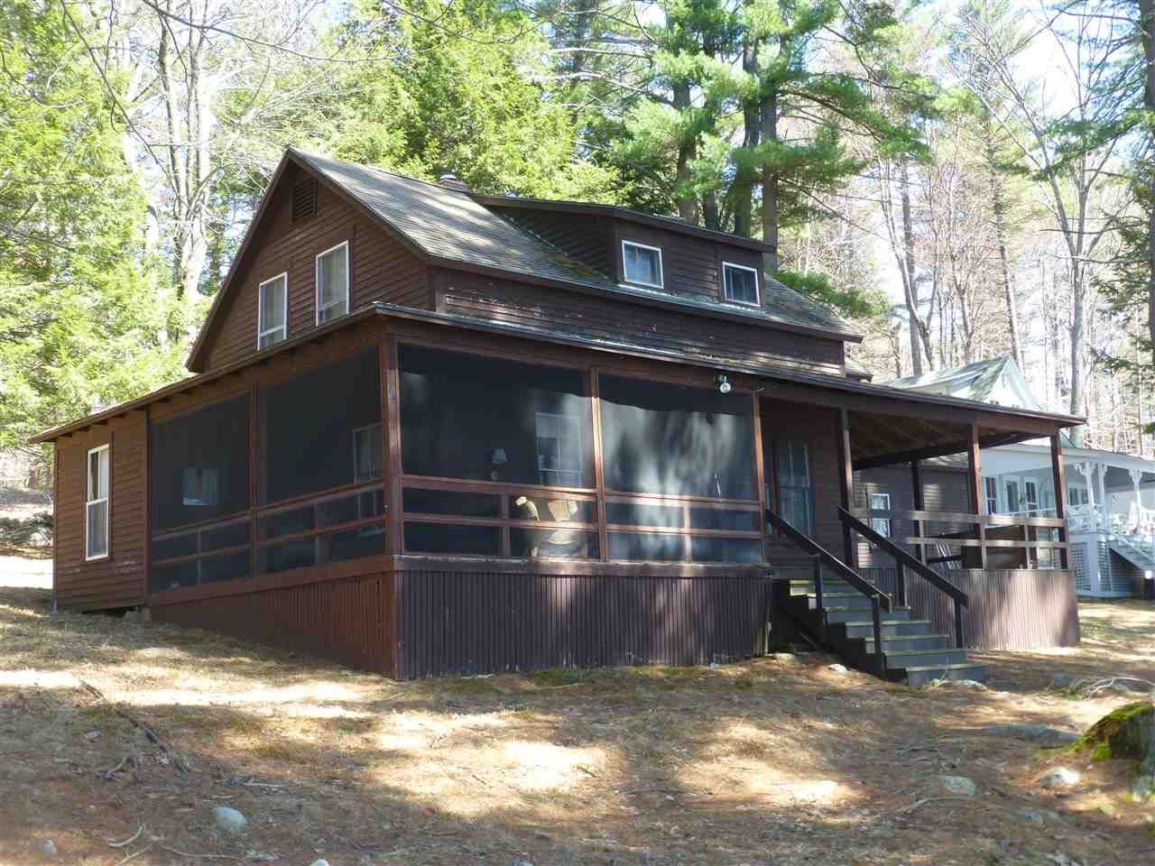 Meredith NH Lake Lake Winnipesaukee waterfront home for sale