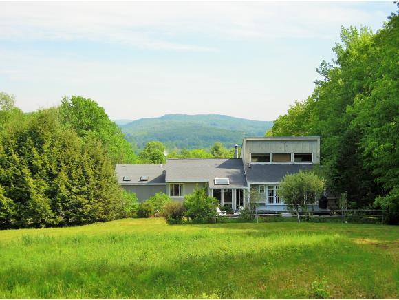 Private country contemporary home with stunning...