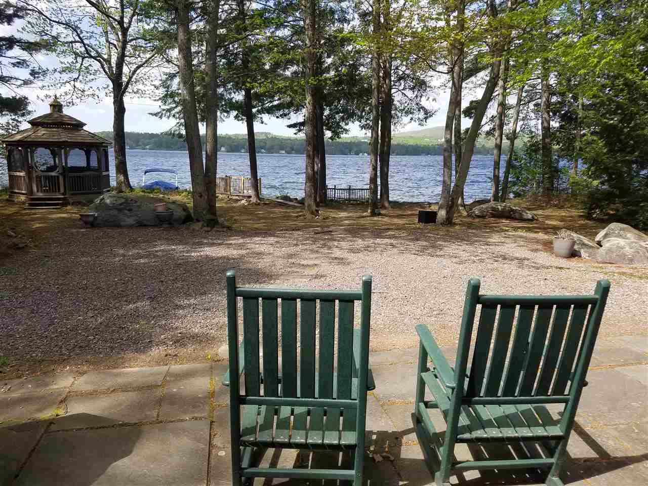 Laconia NH Lake Winnisquam waterfront home for sale