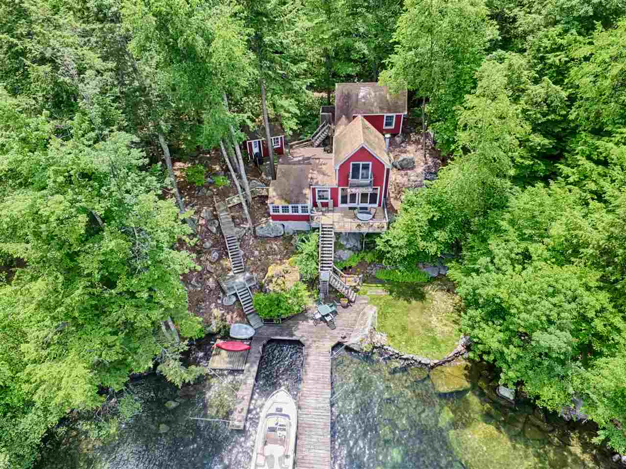 Alton NH Lake Lake Winnipesaukee waterfront home for sale