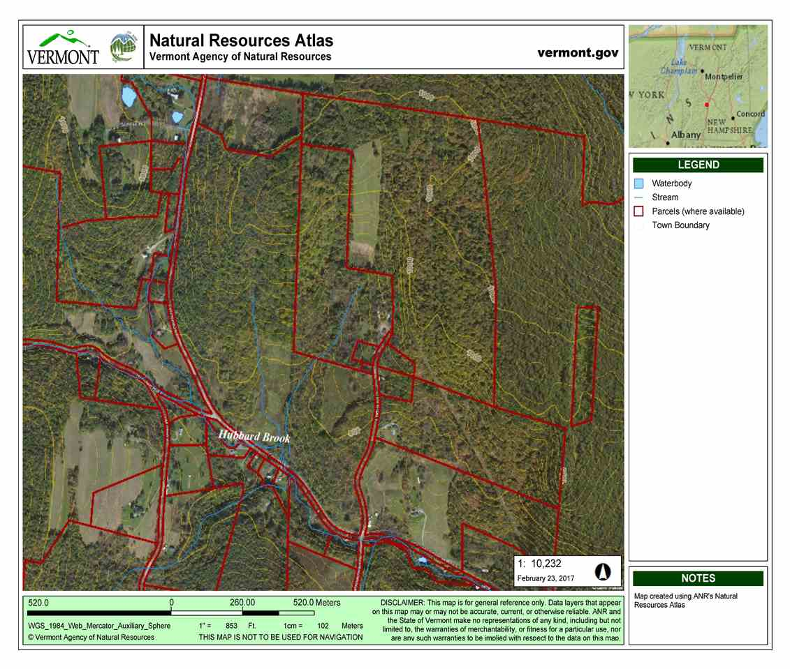 WINDSOR VT LAND  for sale $$225,000 | 115.8 Acres  | Price Per Acre $0