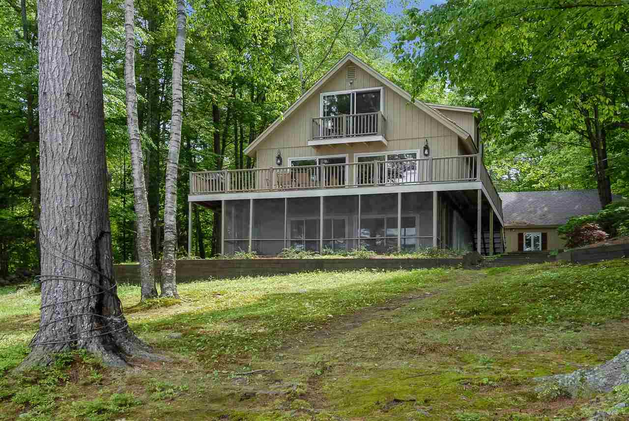 Lake Lake Winnipesaukee waterfront home for sale in Wolfeboro