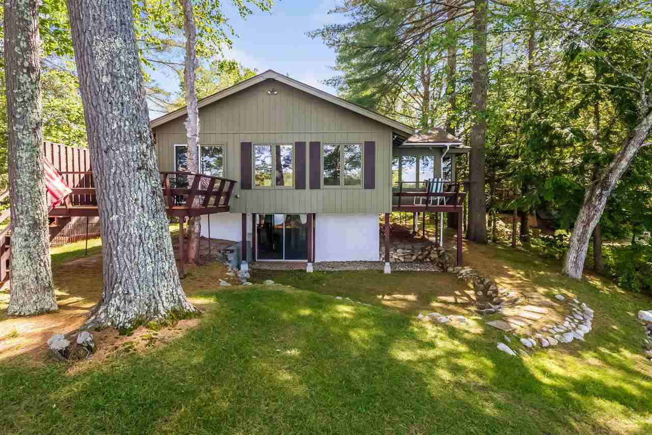 Lake Winnipesaukee waterfront home for sale in Moultonborough
