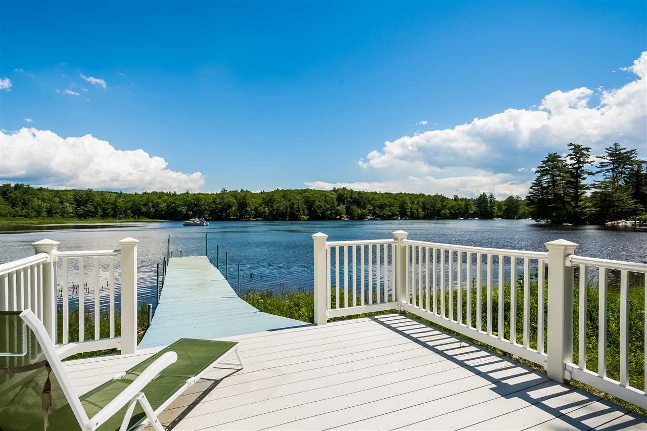 Meredith NH Lake Winnipesaukee waterfront home for sale