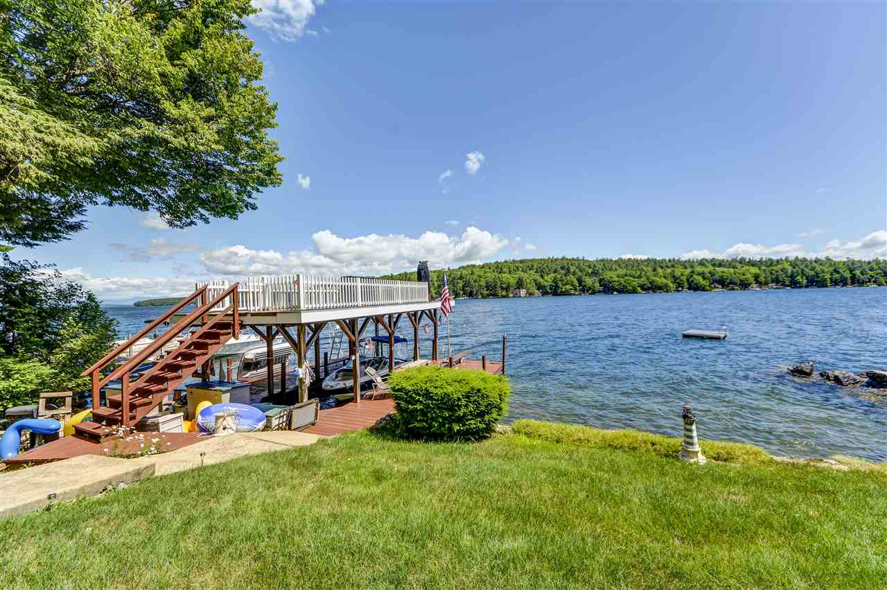 Alton NH Lake Winnipesaukee waterfront home for sale