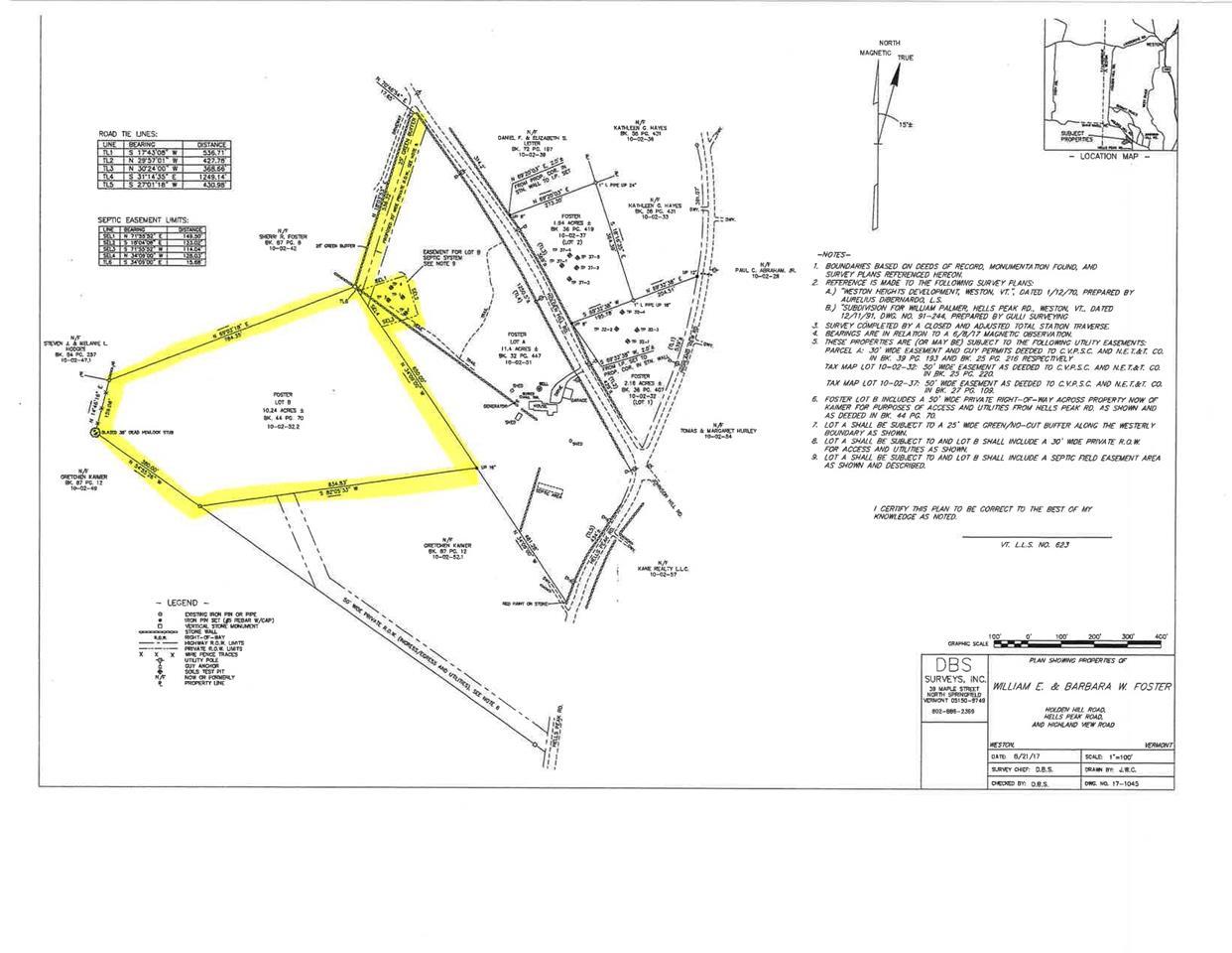 00 Holden Hill Rd Lot B, Weston, VT 05161