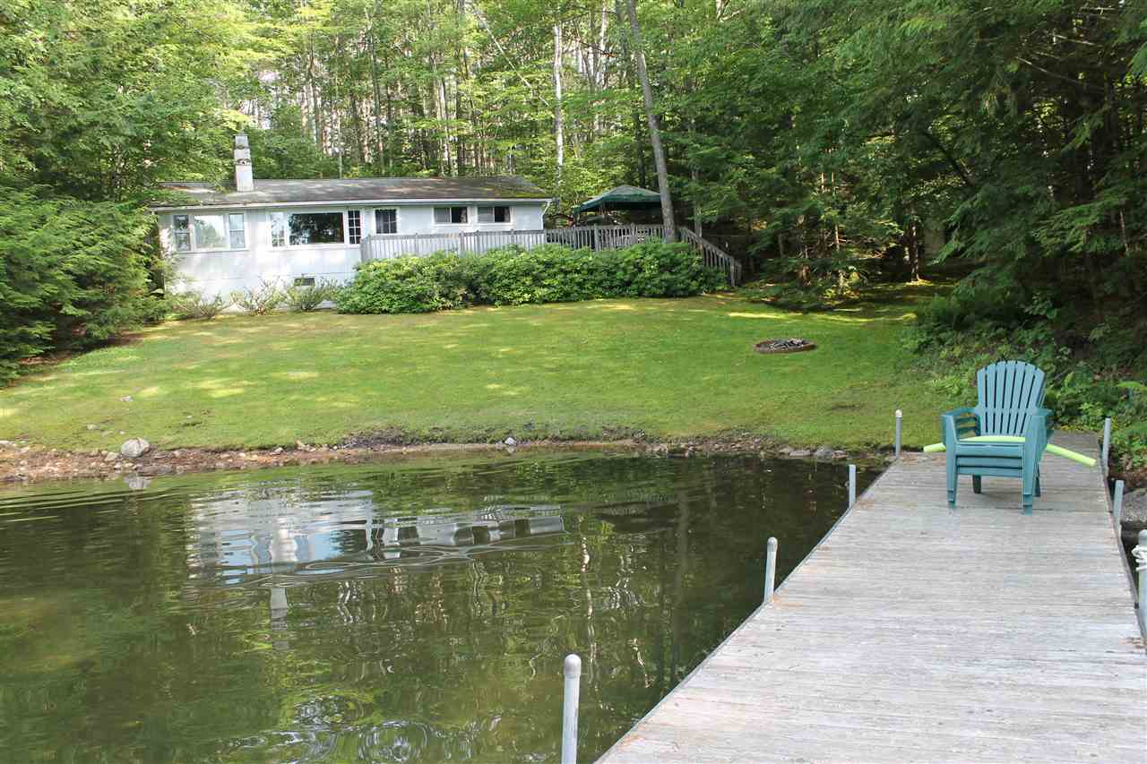 Meredith NH Home mls no. 4646644 with 100 ft. owned waterfront