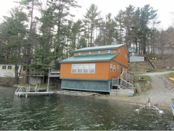 HUBBARDTON VT Lake House for sale $$199,000 | $134 per sq.ft.