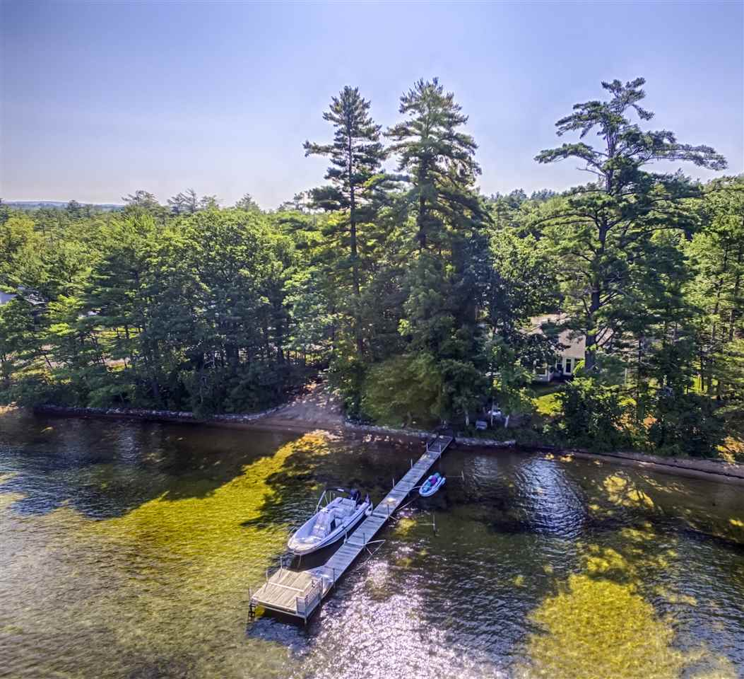 Tuftonboro NH Home mls no. 4647322 with 228 ft. owned waterfront
