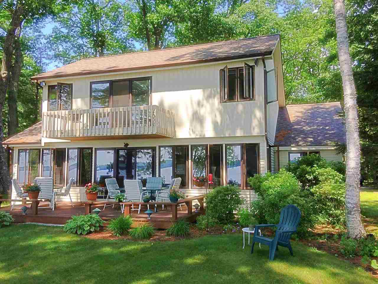 Tuftonboro NH Home mls no. 4648050 with 100 ft. owned waterfront