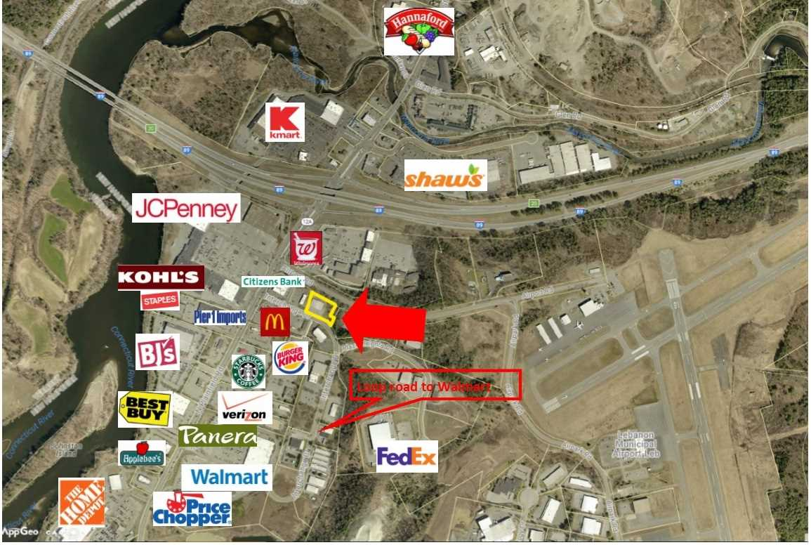 LEBANON NH Commercial Property for sale $$680,000 | $79 per sq.ft.