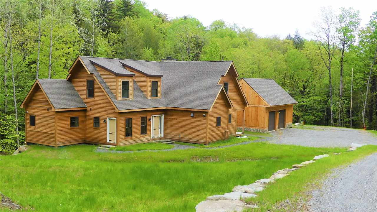 Fabulous new home located on the Coldbrook River....