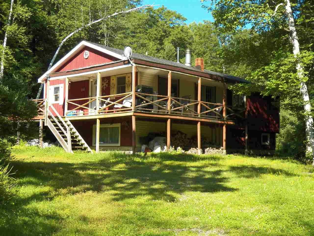 An outdoorsman dream, with snowmobiling, hunting,...