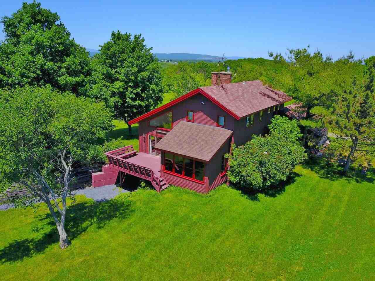 WALTHAM VT Lake House for sale $$1,200,000 | $555 per sq.ft.