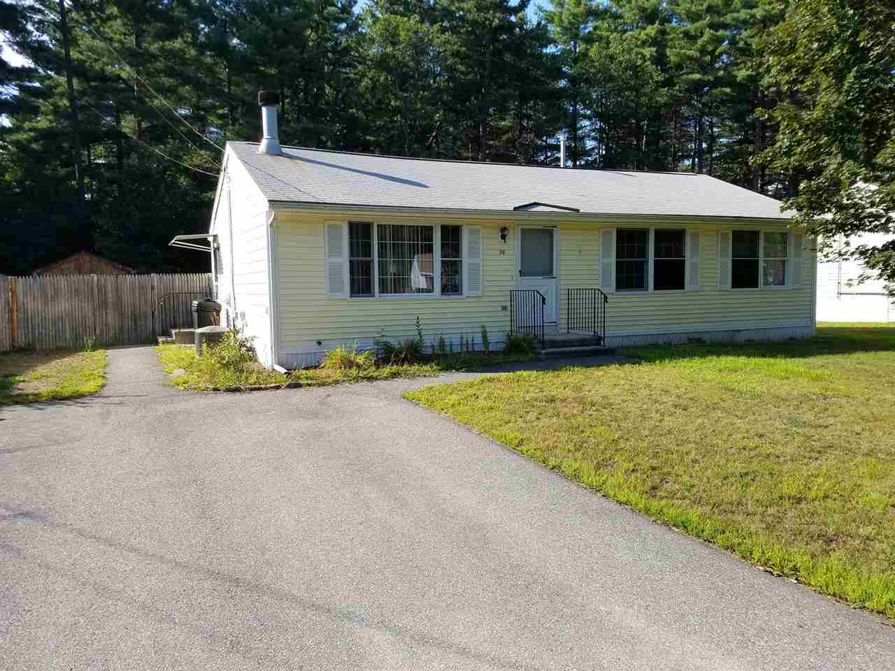 Nashua NHHome for sale $List Price is $115,000