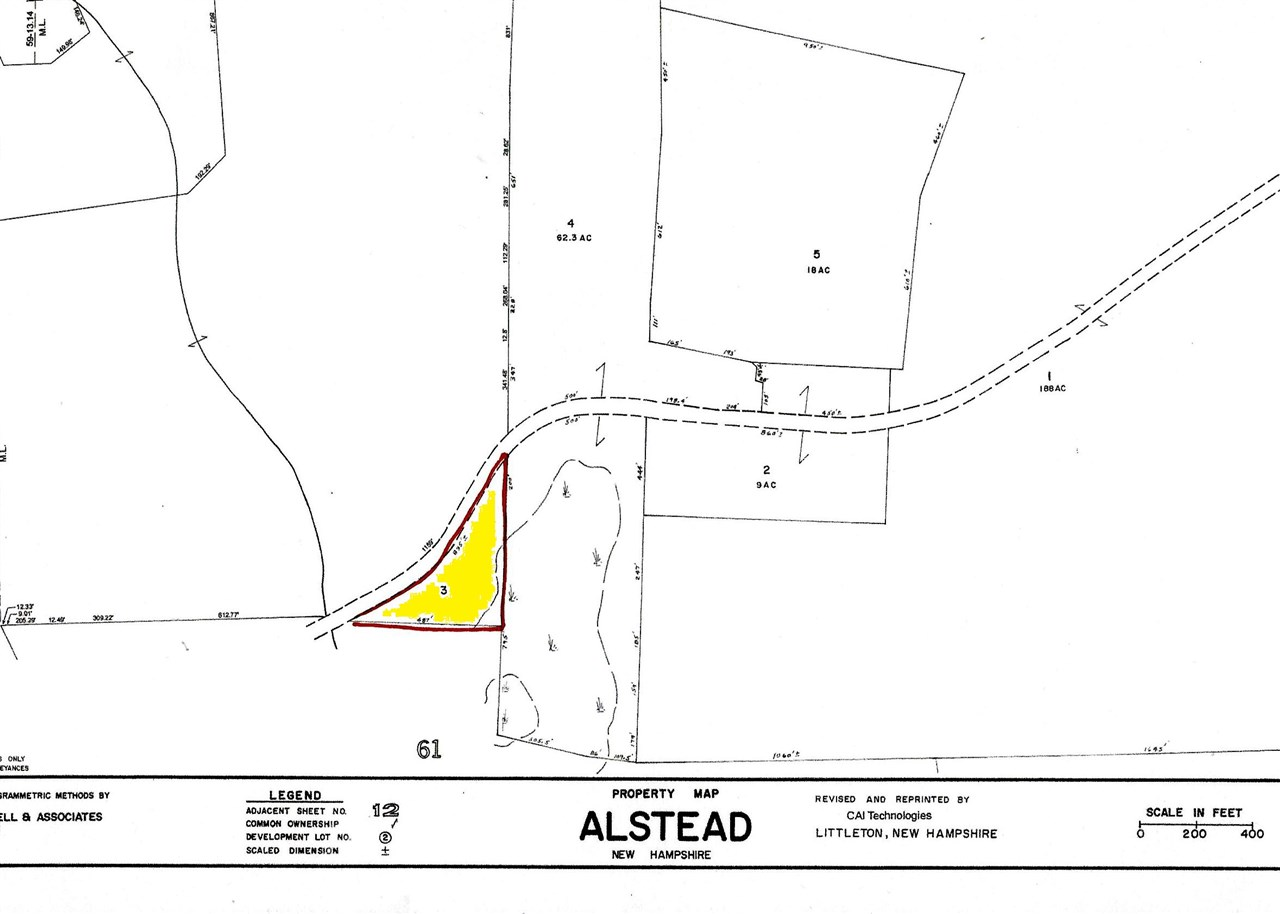 ALSTEAD NHLAND  for sale $$35,000 | 3 Acres  | Price Per Acre $0