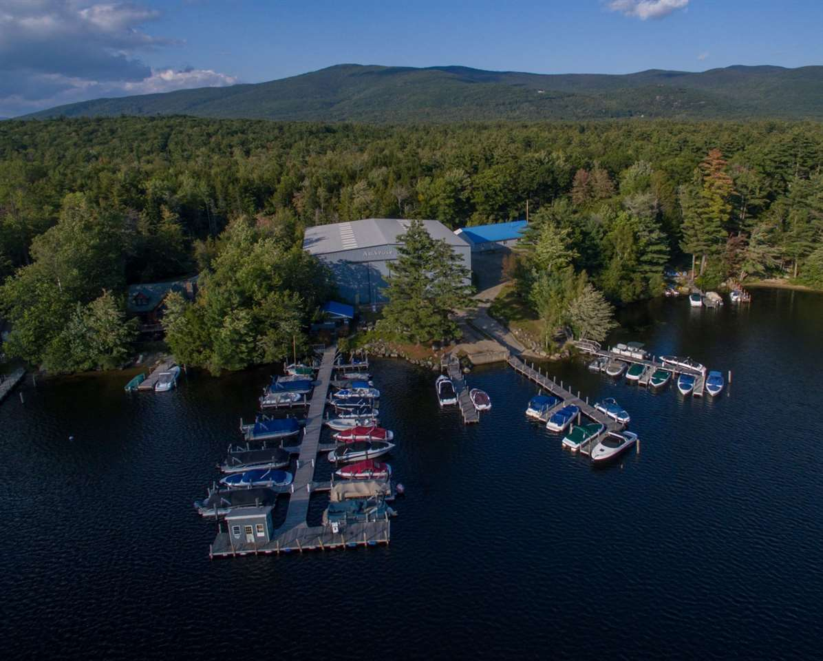 Moultonborough NH Home mls no. 4658358 with 375 ft. owned waterfront