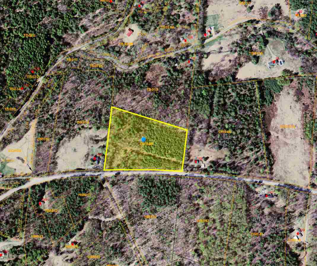 Beautiful 8.96 acre building site in East Dover...