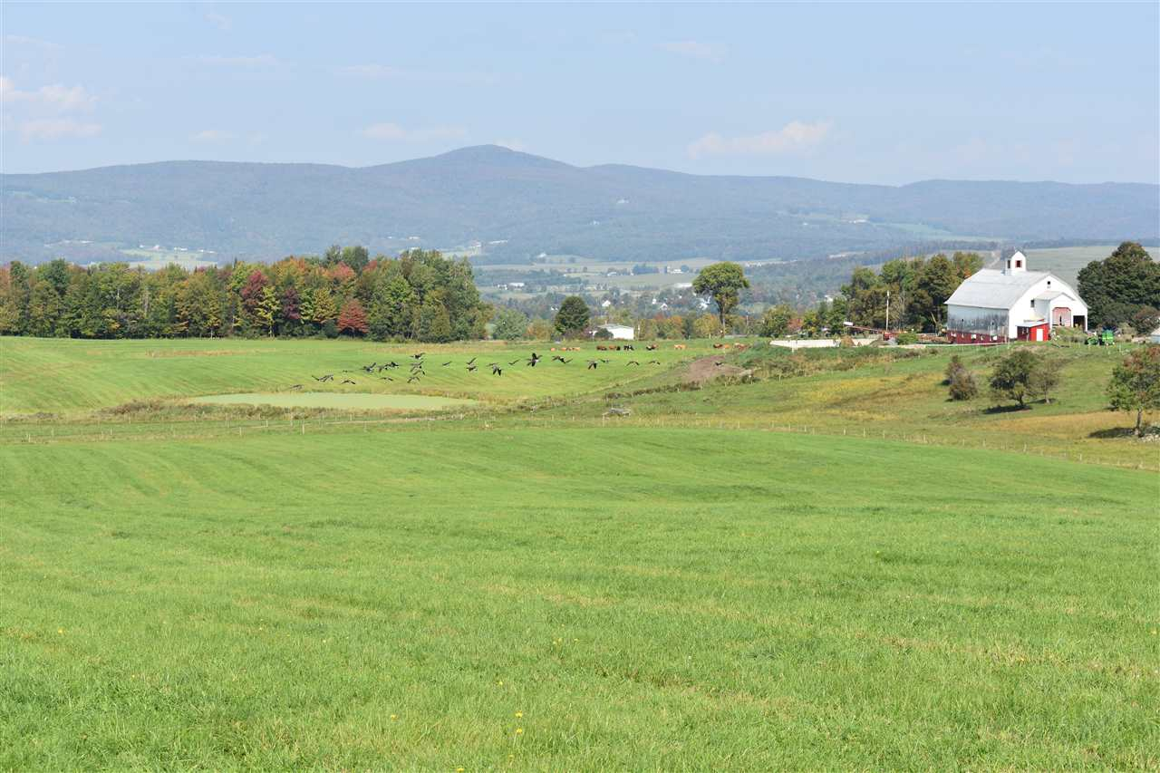 One of the most spectacular pieces of property to build on in the outskirts of Irasburg Village.  Beautiful views of the southwest range including Mt. Mansfield and Camels hump and to the west Jay Peak.  This 5 lot subdivision has a drilled well and cellar hole that was dug out with footings ready for an 1800 sf home.  A right of way from Burton Hill for easier access to the upper building lot with buried conduit for electric.  Well yields 30 gpm.  No soil tests have been done.  Large hay fields along with some woods for agriculture.  If you are looking for an incredible place to build your dream home and live off the land, this is it.