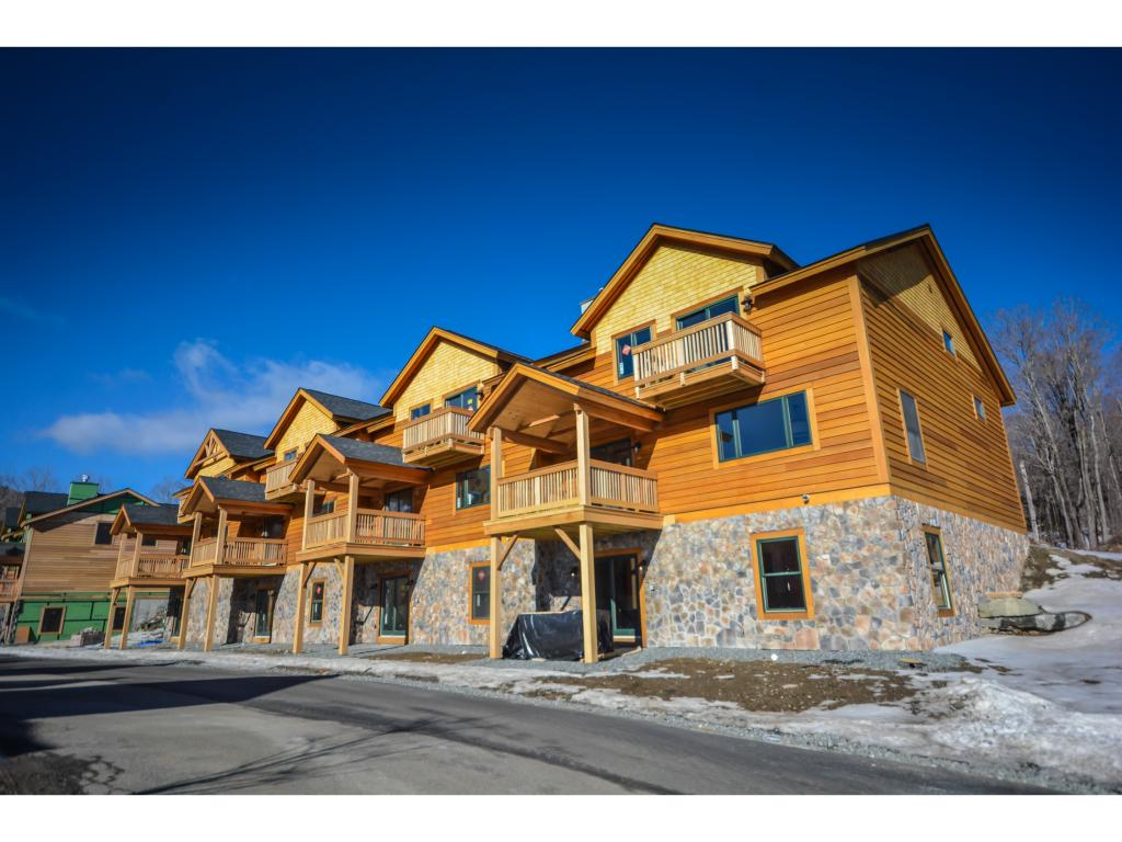 Gorgeous new construction townhomes at the base...