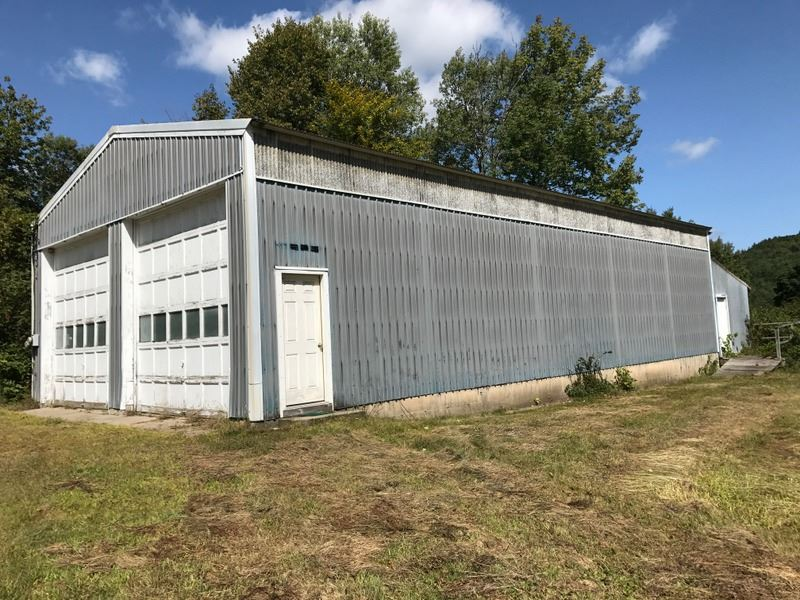 This 73' x 30' heated steel frame...