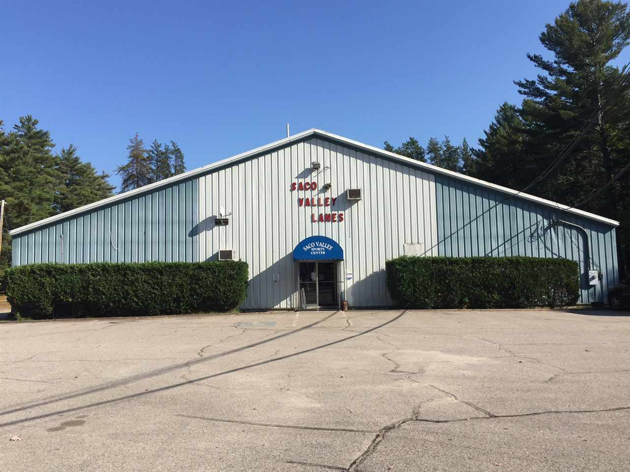 Great business opportunity to continue the operation of this successful Sport Center in Fryeburg, Maine or to develop your own business opportunity in this highly visibile and great location.  The 12,000 square feet building was built in 1980. It features 16 rock maple bowling lanes with overhead electric score keeping, several coin operated games, a 26 seat snack bar; and on the second floor are three fully simulated golf games to keep the golfers entertained during the winter months and to practice during the summer before going to the golf course. The owner has operated the current business for over 35 years; the location is fabulous, the size of the lot and the size of building makes this commercial location conducive to many other business developments.
