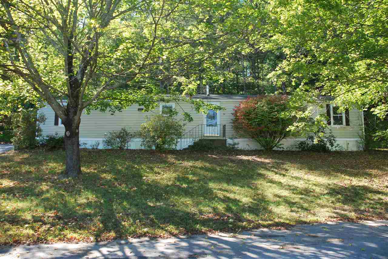 Milford NHMobile-Manufacured Home for sale $List Price is $65,000