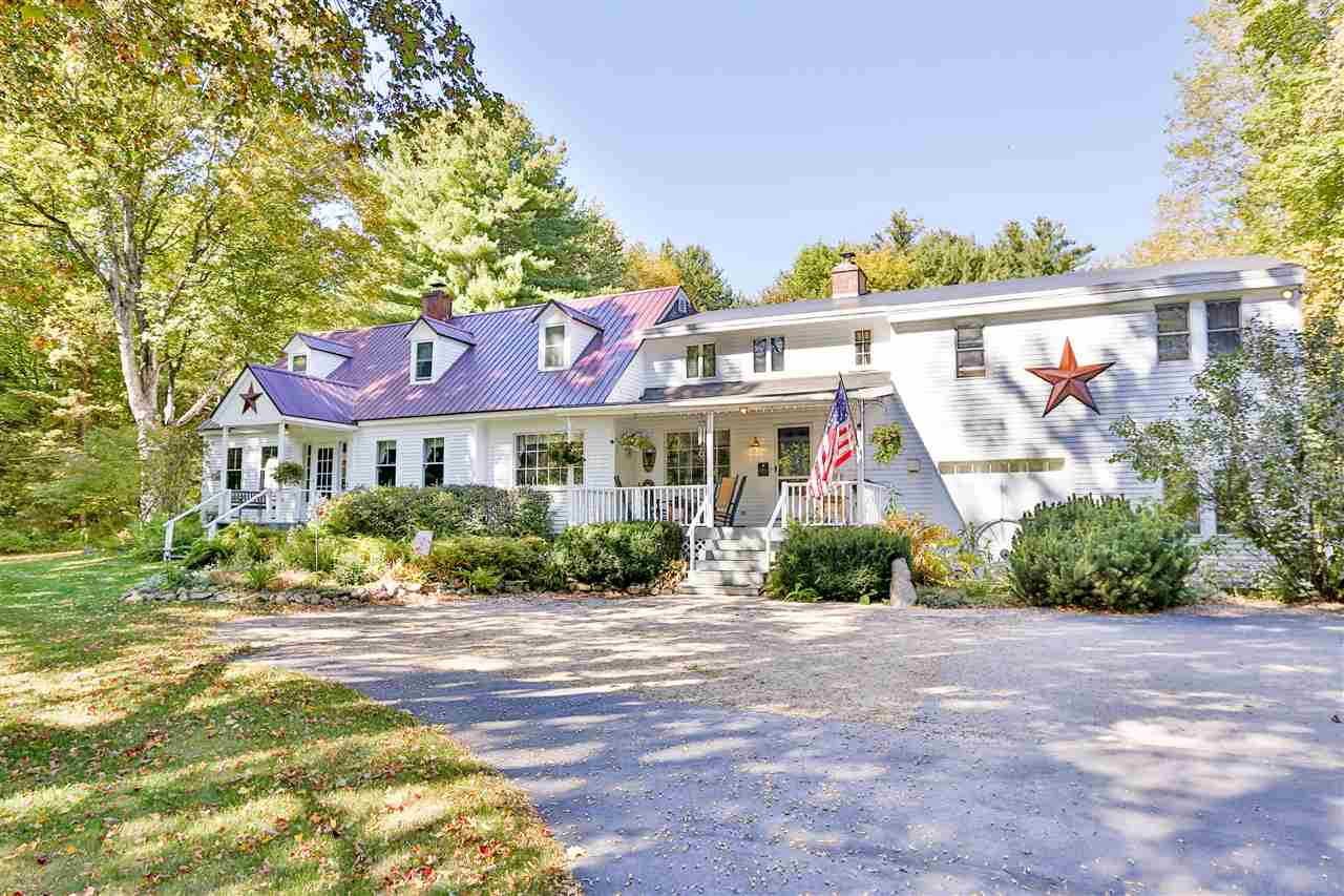 Elegant Country Inn on 5 secluded acres offering peace and tranquility yet just steps away from the heart of North Conway Village offering so many beautiful shops and fine dining.  Also, just down the street from Mount Cranmore.  It features 10 tastefully appointed guest rooms with private baths, spacious guest living room with fireplace, a beautiful dining room and an additional great living room where guest can play games, watch TV or just relax in front of the fireplace. The owner's living space is incredible with a large living room, fireplace, a marvelous kitchen, three bedrooms and a full bath completes this special area.  The grounds are very well maintained.  There is an in ground pool and a trail to Mount Surprise.  This unique inn is a Member of Select Registry which means this is a truly special   Inn!