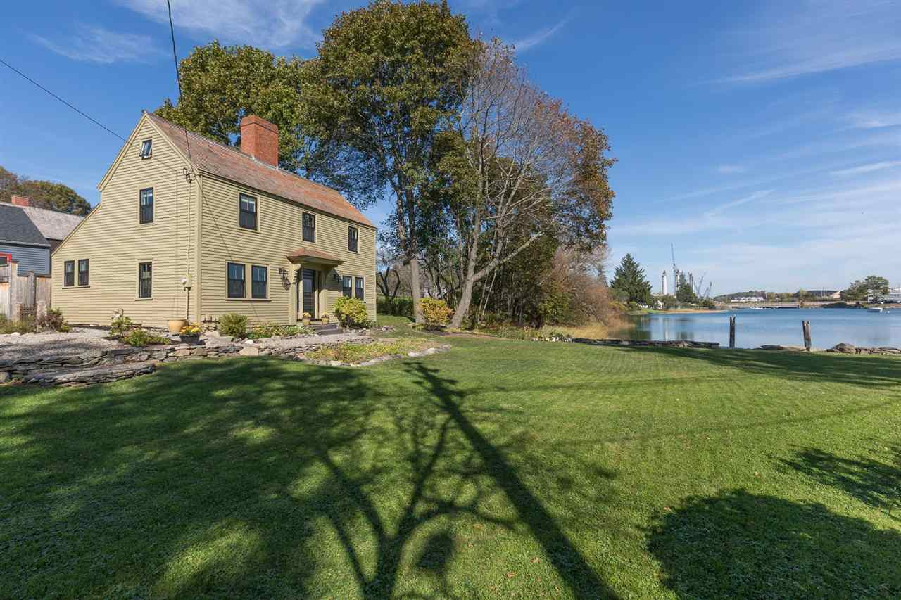 Portsmouth NH Pond Mill Pond waterfront home for sale