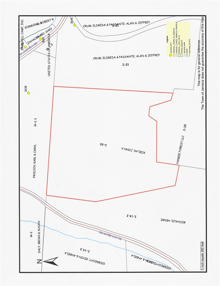 40 acres of wooded land, access is unknown at...
