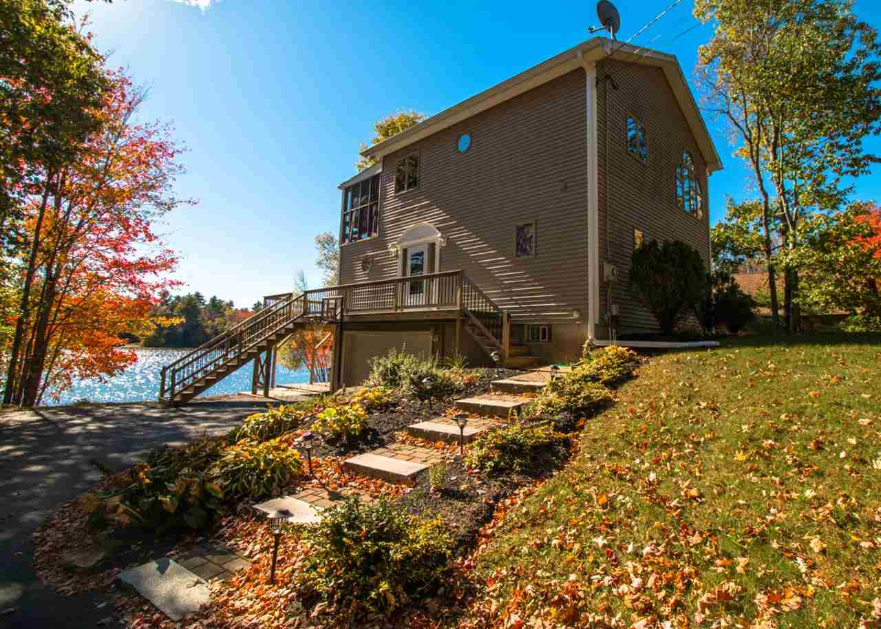 Lake Locke waterfront home for sale in Barnstead