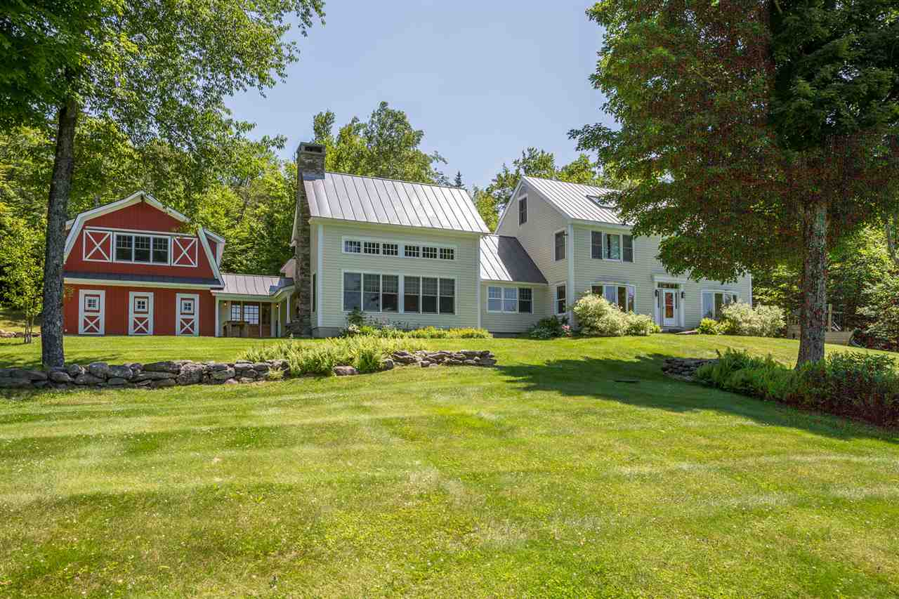 High Meadow, a private VT estate on 124 secluded...