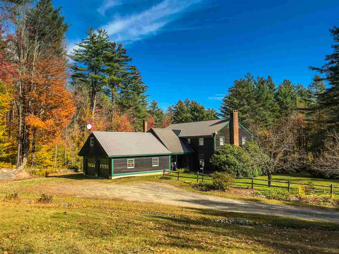 Charming country home nestled between Stratton...