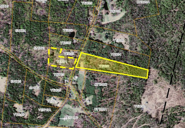 Gently sloping 11 acre lot on the quiet and...