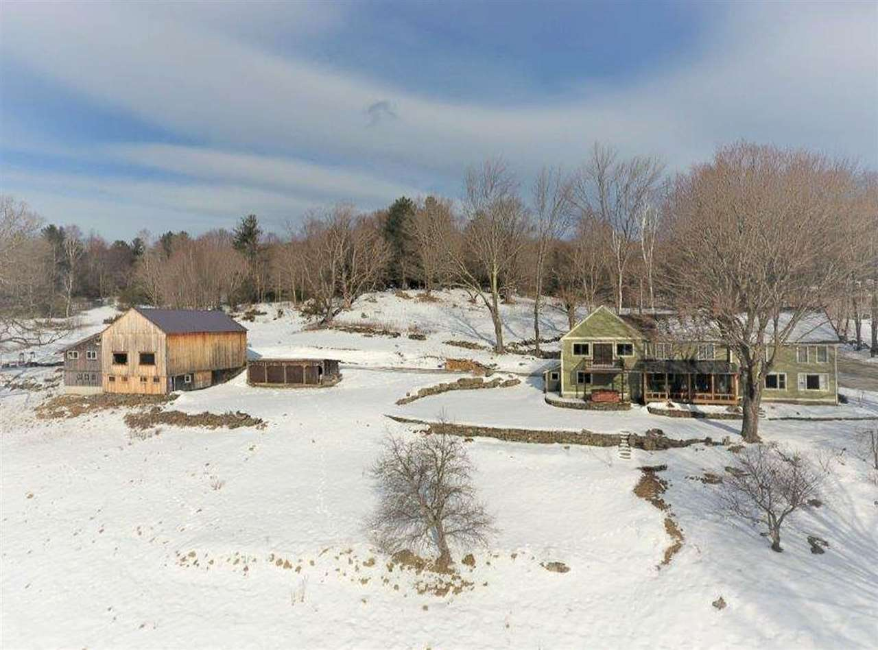 Authentic Vermont property with 52+/- acres at...