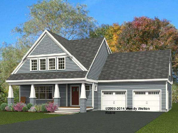 """Live the lifestyle! Be one of the first to reside in this new luxury Greenland NH community! You will find yourself steps away from Breakfast Hill Golf Club and just minutes from major commuter routes, shopping and the progressive seacoast that is now home to many fine dining and retail options. We are excited to present the """"Robin Classic""""; a stylish 1874 +/- sq. ft. three bedroom home with room for all. This comfortable floor plan greets you upon entering, featuring a spacious living room with a cozy fireplace. Upstairs, a master suite, 2 roomy bedrooms and 326 sq.ft. of unfinished space above the garage complete the footprint. Can you imagine all the room in the basement! Replete with richly appointed finishes, great selection choices, elegant landscaping and Energy Star Certification, this could be just the home that you have been looking for! Commute with ease to Portsmouth and surrounds, and make this stunning Greenland home your new address!"""