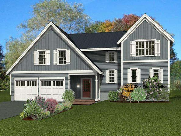 """Be one of the first in Greenland's newest luxury home community! This convenient location is less than 5 miles to Portsmouth, minutes to major commuter routes, steps to the illustrious Breakfast Hill Golf Club and a short distance to the gorgeous beaches that line the seacoast. You will find yourself nestled in a beautiful rural setting, where you can golf during the day, and catch a movie at Prescott Park in the evening! Meet the """"Parker"""", a grand floor plan emulating the gracious lifestyle that abounds. This sweeping floor plan greets you upon entering with 2147 +/- square feet of stylish living space. This plan offers a first floor master, two additional bedrooms and bath upstairs and if you need more space, we've got that covered with 361 sq. ft. of unfinished space on the second floor! We also have this plan in a 2973 sq. ft. version. Enjoy stylish cabinetry, granite counter tops, elegant landscaping, Energy Star Certification, and the proximity to everything seacoast. To be built by Chinburg Builders, proud recipient of the EPA Energy Star Partner of The Year award in 2016 and 2017. Sewall Meadow - a lifestyle to own! Only 8 lots remaining, secure your lot now!"""