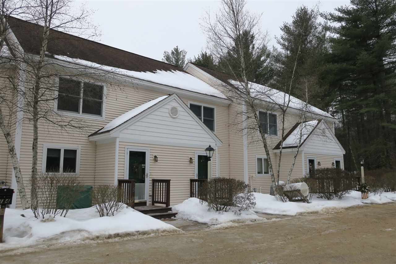 Beautifully, well maintained, furnished Townhouse conveniently located in North Conway. Abuts national forest with hiking and cross country ski trails just steps from your door. This townhouse features central A/C, large living room open to the dining area which is off the kitchen. Large sliders off the living room to a nice private deck with retractable awning with enough space for the grill, and a table and chairs. A convenient half bath is located on the main level. Spacious master bedroom with private full bath and large closet. The second bedroom also has a large closet and its own private bath in the hallway. On the lower level there's the third bedroom with its own private bath. Also, on the lower level there's the family room. This is a great vacation or year-round property.