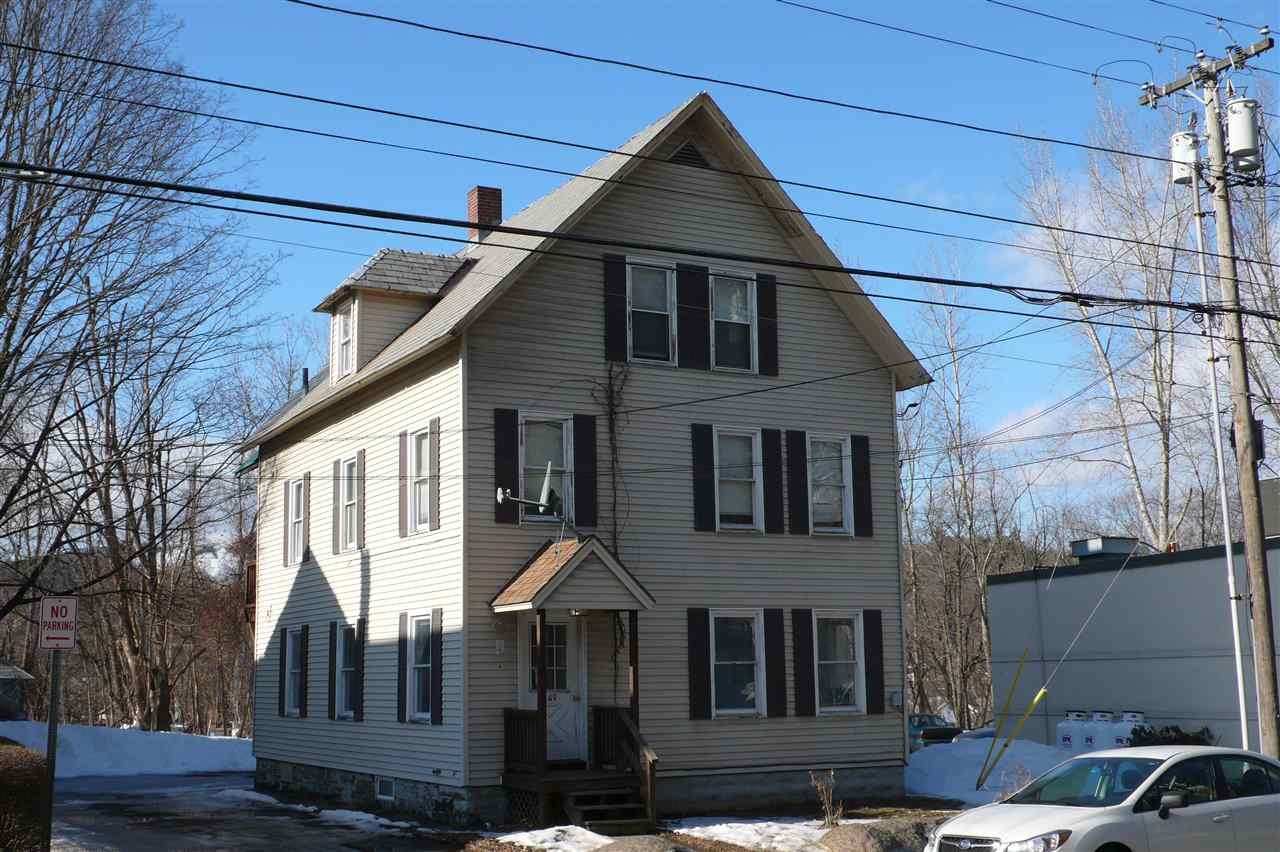 Nice three unit apartment house with off street...