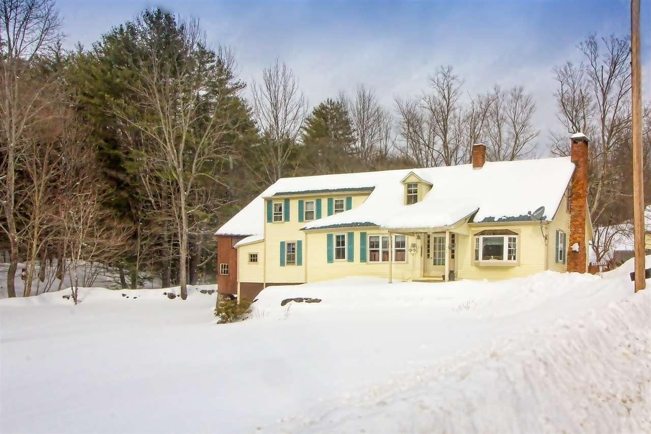Quintessential Vermont home located  just on the...
