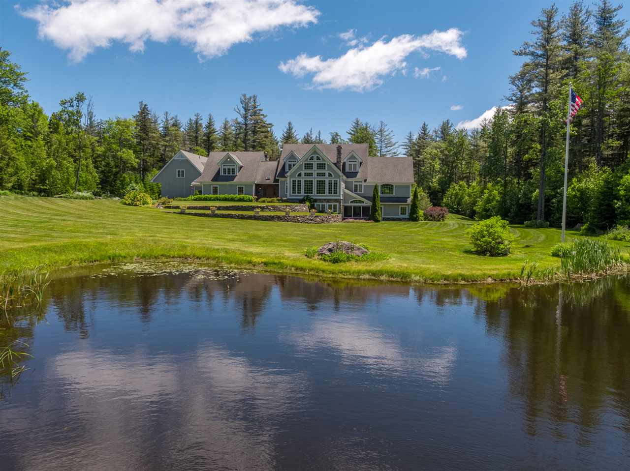 Extraordinary Stratton Mountain Estate situated...