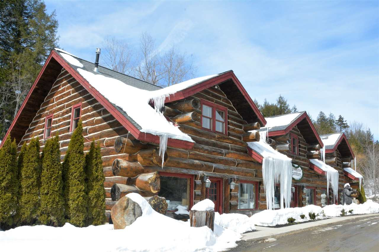 Commanding log cabin. Anyone who has traveled...