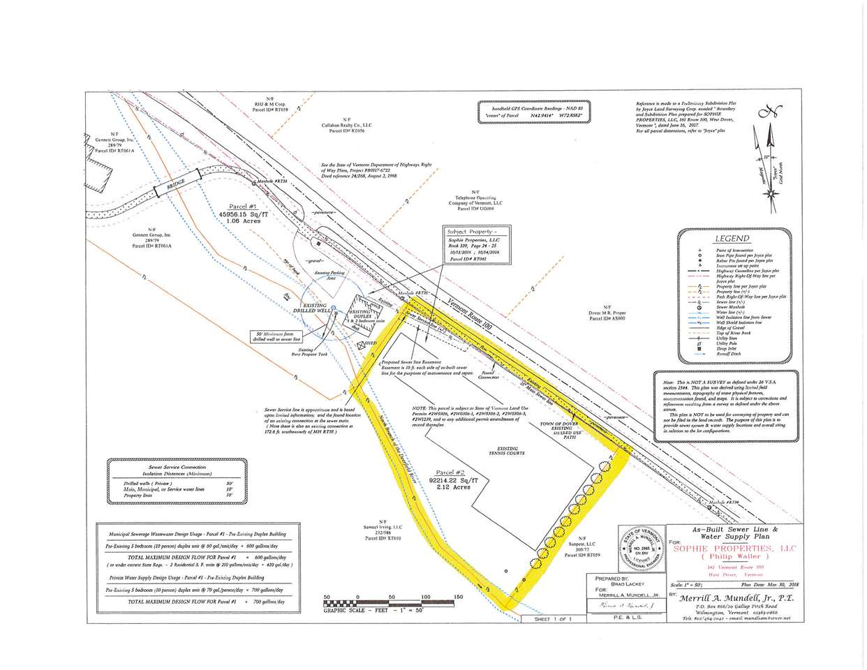 2.12 Acres on route 100, Valley Trail, Snowmobile...