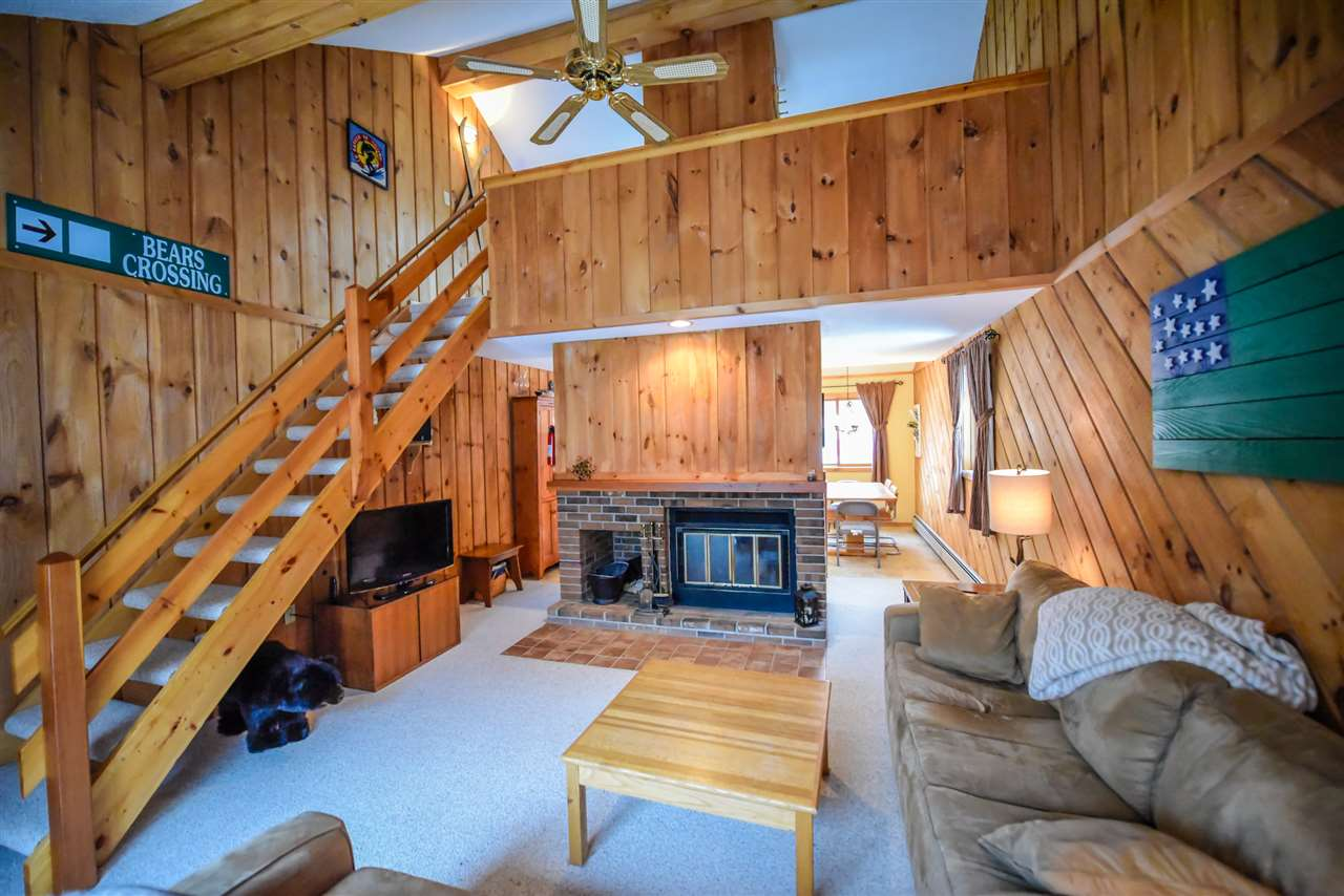 Ski to your unit! This 3 bedroom, 2 bath end unit...